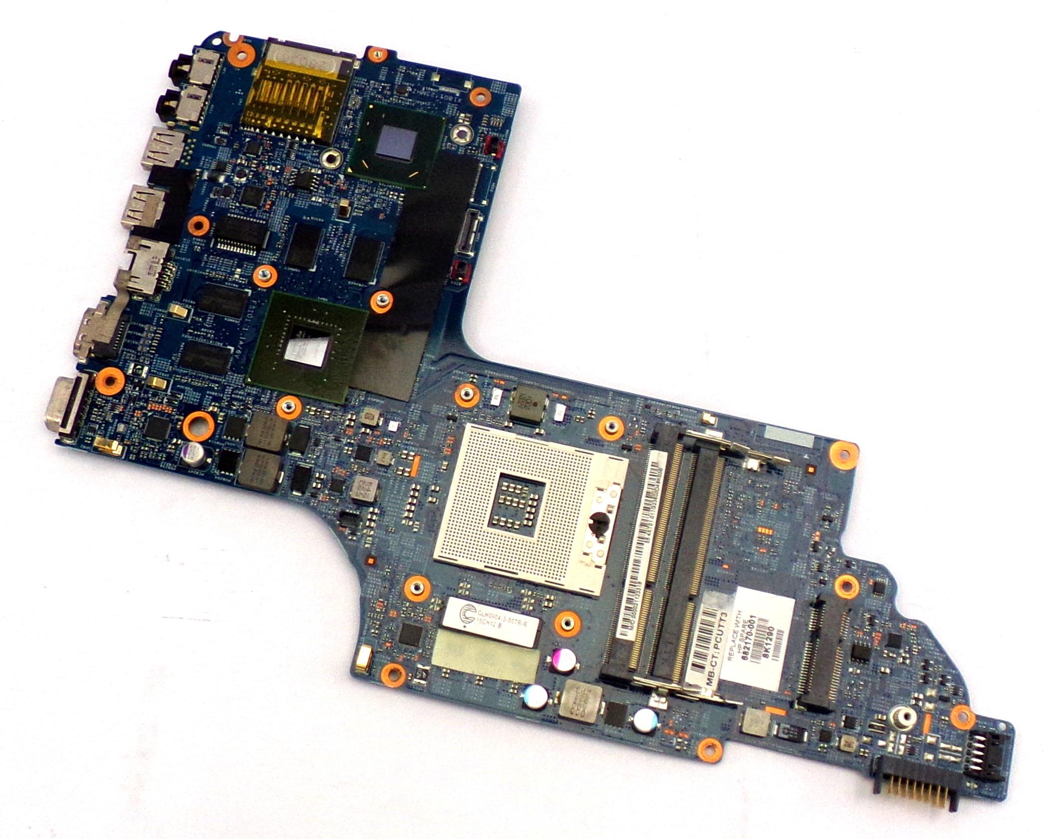 HP 682170-001 DV6-7000 Socket rPGA-989 Laptop Motherboard