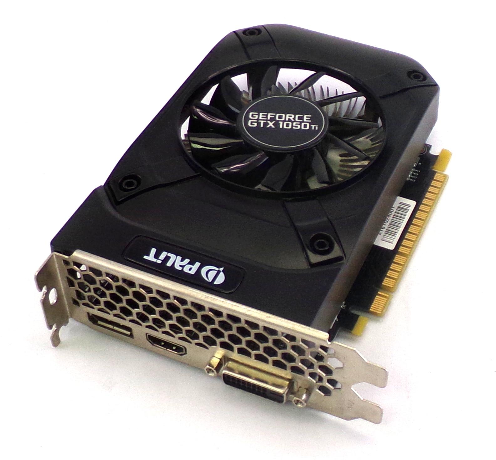 Palit NE5105T018G1-1070F GTX 1050 Ti STORMX 4GB DDR5 128bit Graphics Card