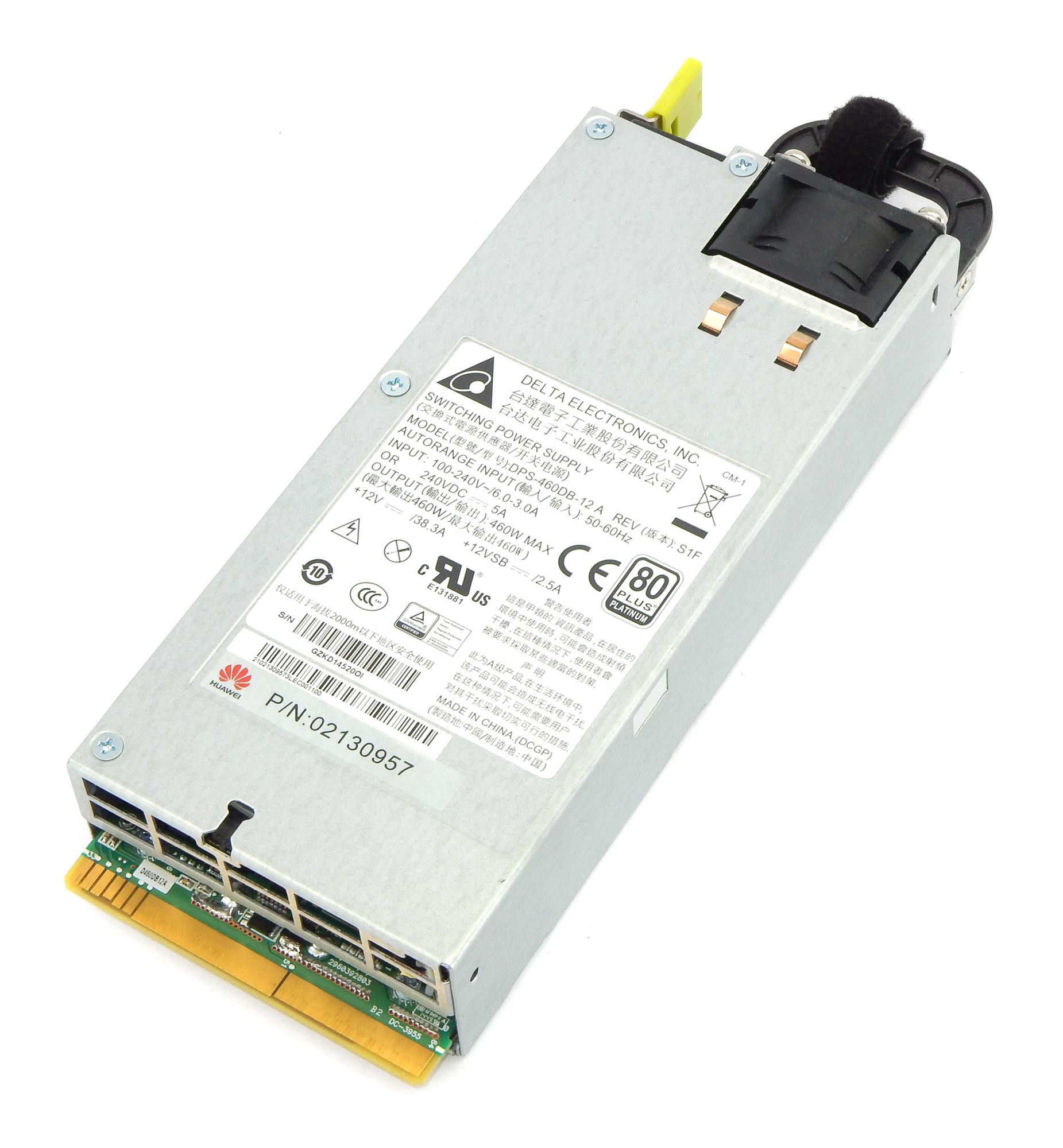 Delta DPS-460DB-12 A Huawei p/n: 02130957 460W Server Power Supply