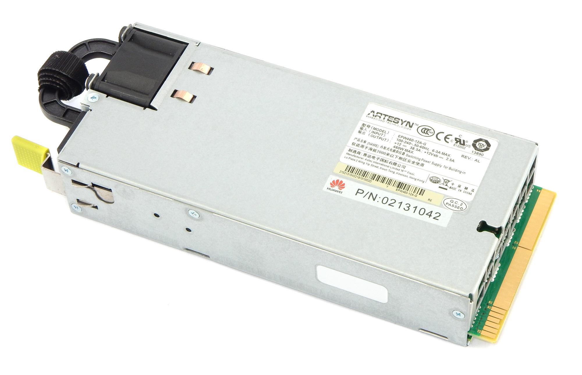 Artesyn EPW460-12A-G 460W Server Power Supply / Huawei p/n 02131042