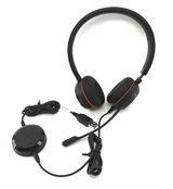 Jabra Evolve 30 II Microphone Headset w/ ENC060 USB MS link adapter