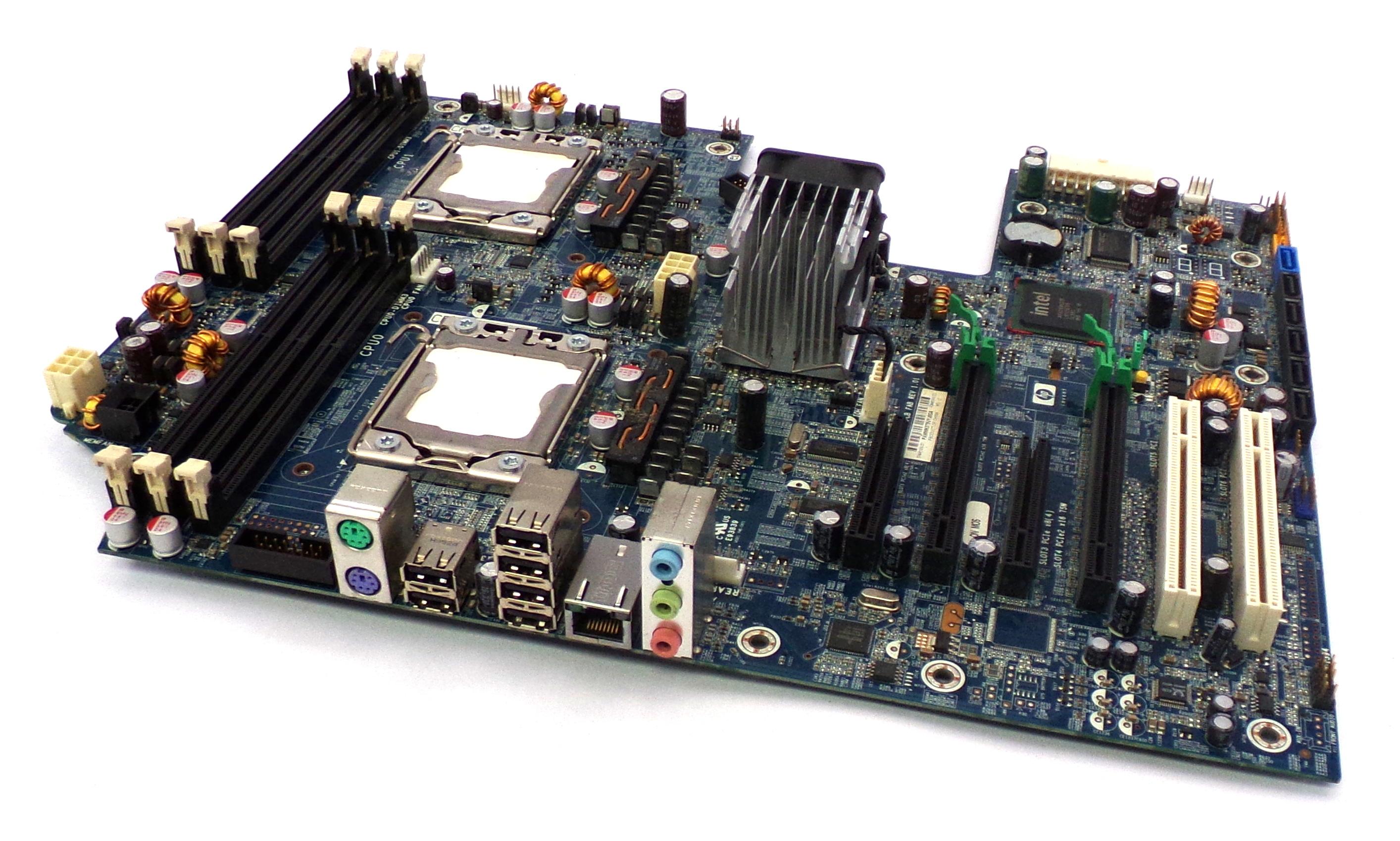 HP 461439-001 Dual Intel Socket LGA1366 Motherboard 460840-002 for Z600