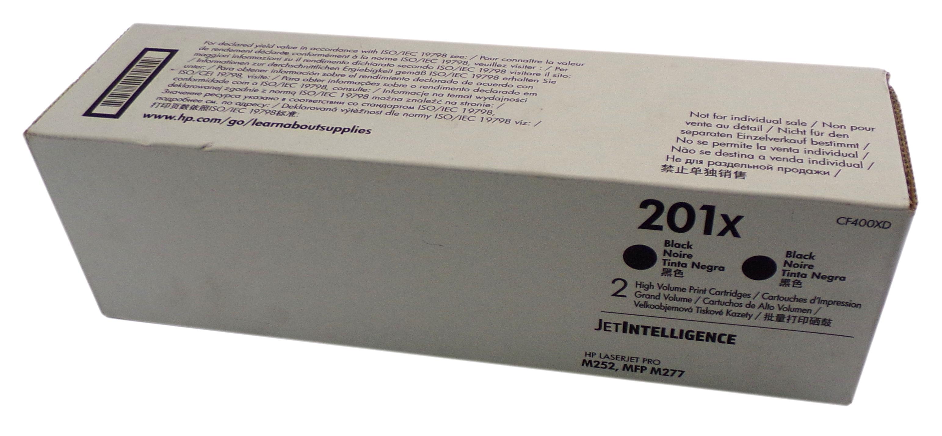 New Genuine HP JetIntelligence **SINGLE** CF400XD Print Cartridge 201x