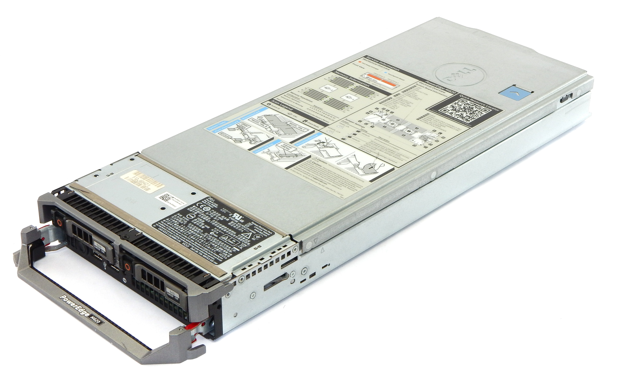 Dell F9HJC PowerEdge M620 Barebone Chasis w/ 69C8J / JVFVR / 55GHP /210Y6