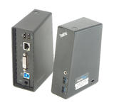 2x Lenovo 03X6285 ThinkPad Basic USB 3.0 Dock DL3700-ESS