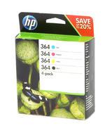 HP N9J73AE 364 Ink Cartridges For DeskJet 3520