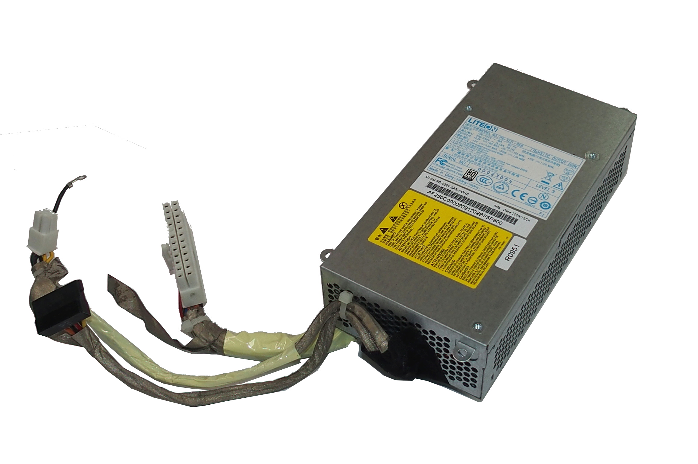 Lite-On PS-5221-8AB 250W PSU /f Acer Z5600/Z5700 AiO Packard Bell OneTwo L5710