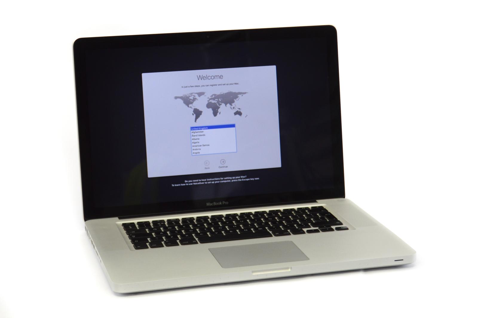 """Apple MacBook Pro 15"""" A1286 Mid 2010 Core i5 2.4GHz 6GB 480GB SN:W80171Q7AGX"""