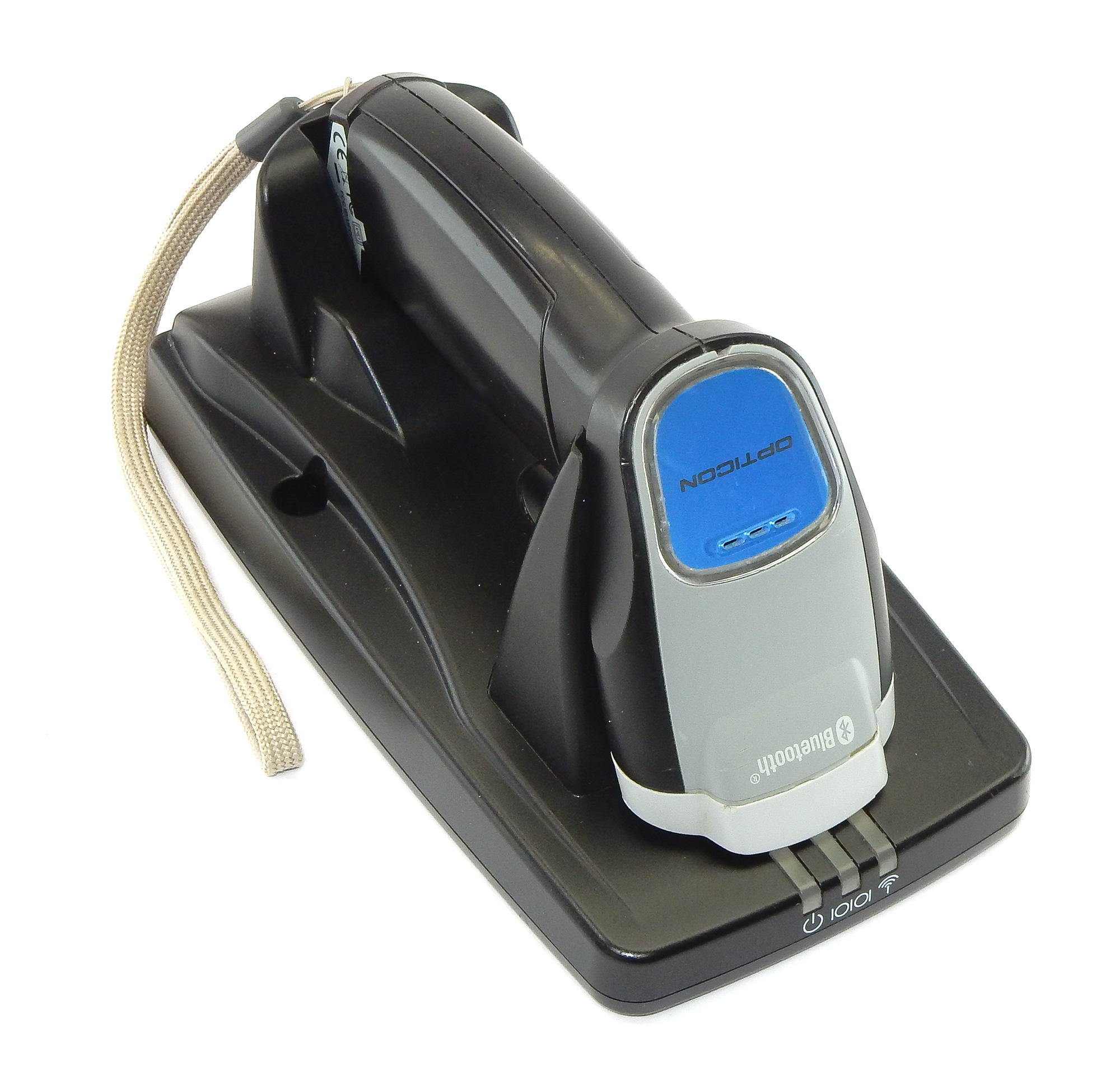 Opticon OPI-3301 2D Bluetooth CMOS Barcode Scanner With Craddle - READ