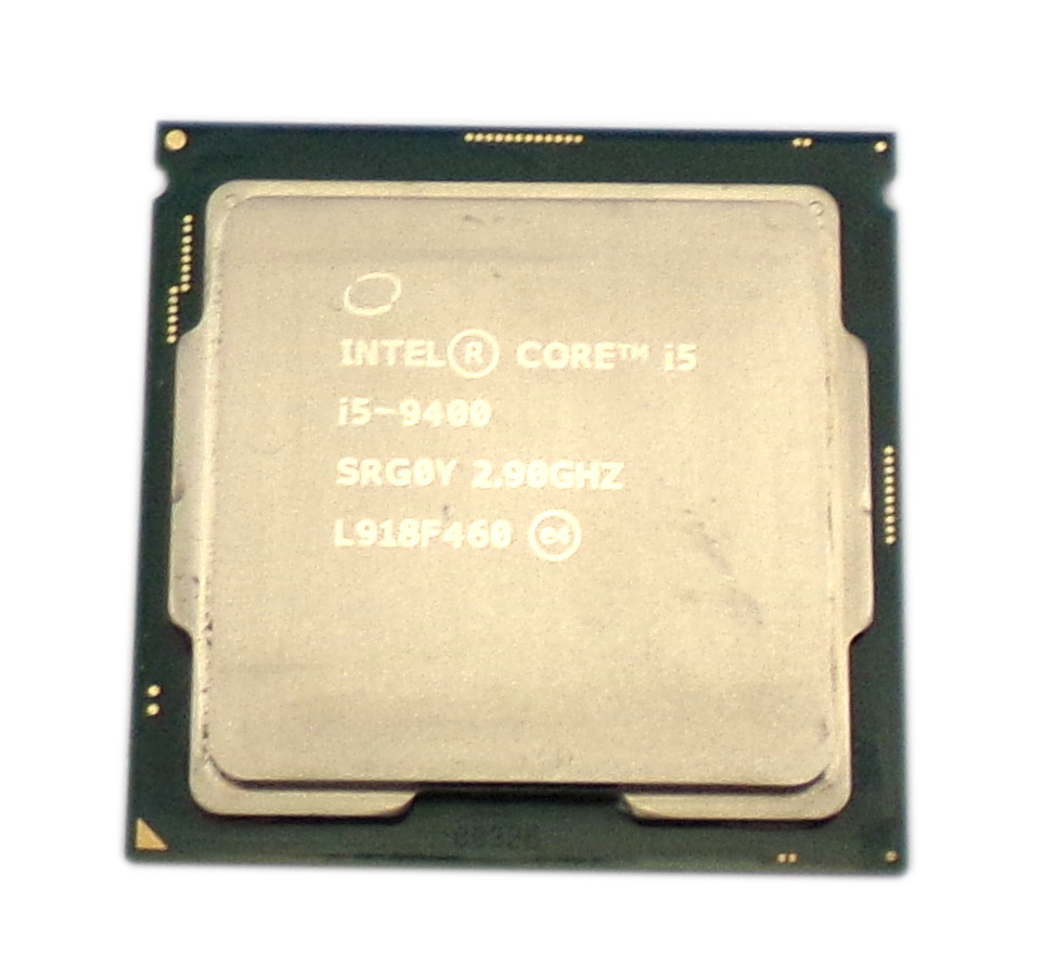 Intel SRG0Y i5-9400 6-Core 2.9GHz 9MB Cache 9th Gen Coffee Lake Socket 1151 CPU