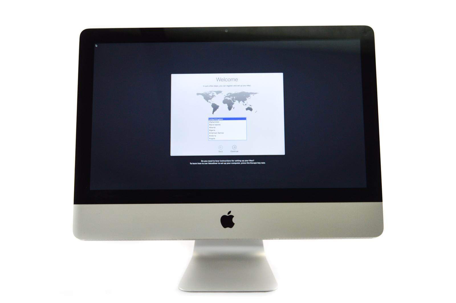 """Apple iMac 21.5"""" Mid 2011 A1311 Core i5 2.5GHz 8GB RAM 500GB HDD SN:C02J2TKTDHJF"""