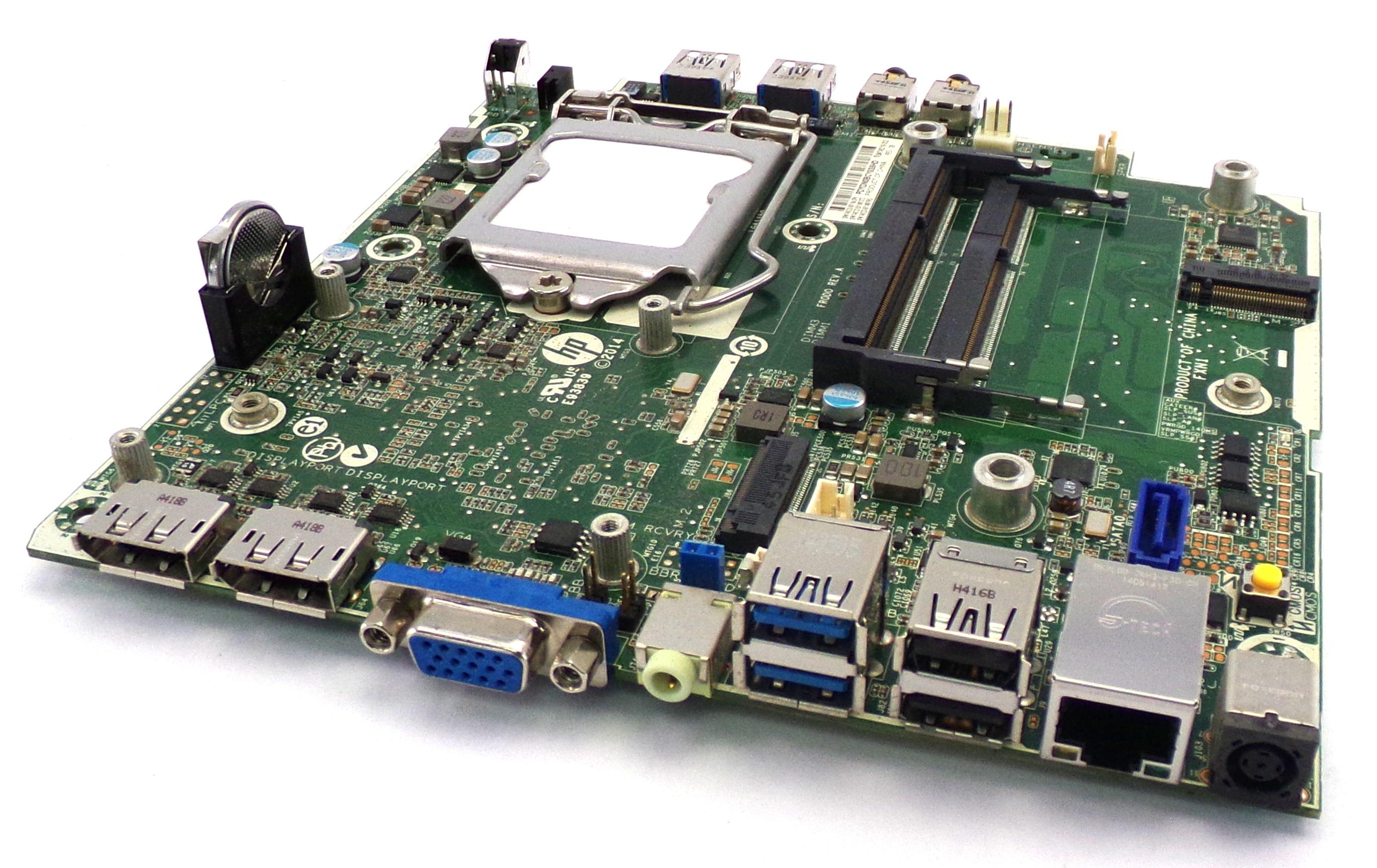 HP 746722-001 ProDesk 600 G1 Mini Socket LGA-1150 Motherboard