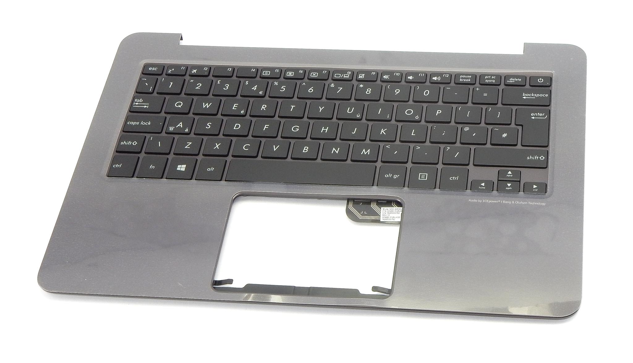 Asus UX305FA Palmrest / Top Case w/ UK Keyboard 90NB06X1-R31UK1