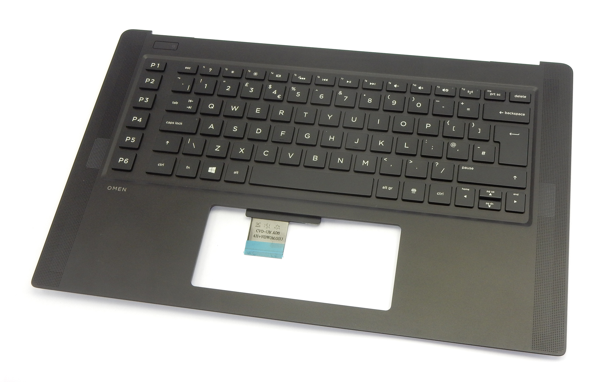 HP 788603-031 Omen 15-5000 Laptop Palmrest With UK Keyboard 46M.02QCS.0002