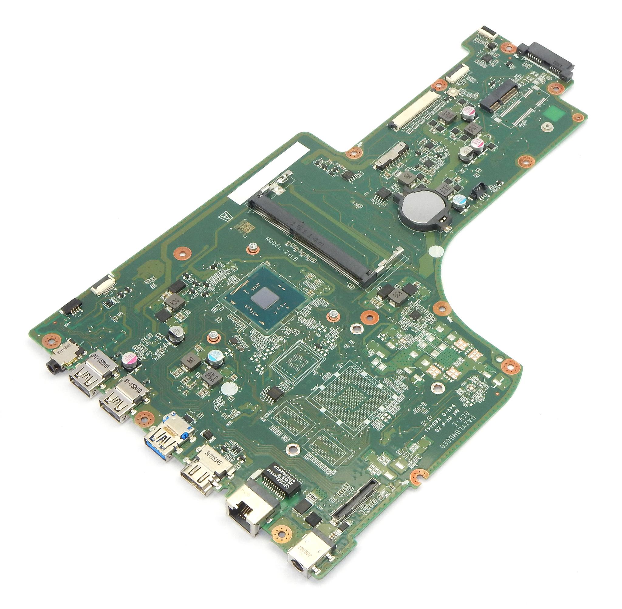Acer NB.MZS11.006 ES1-731 Laptop Motherboard DAZYLBMB6E0 w/ BGA N3710 CPU