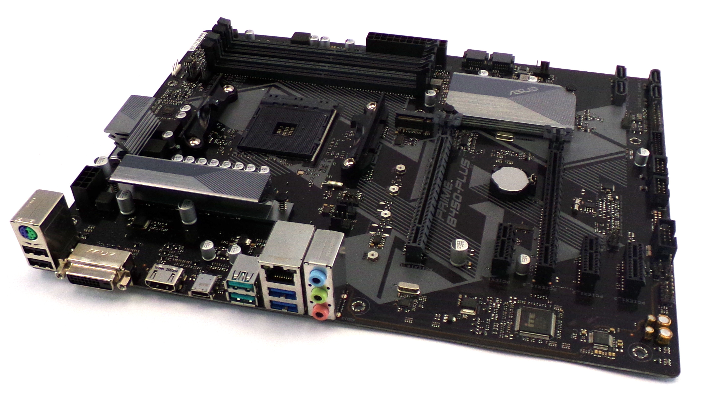 Asus PRIME B450-PLUS Socket AM4 DDR4 ATX Motherboard