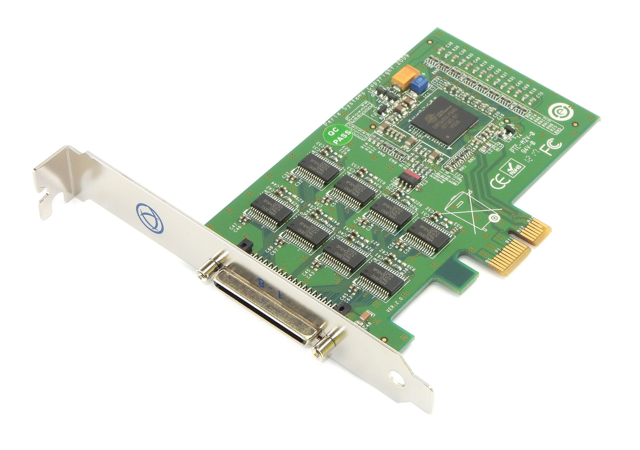 Perle Systems 04003020 Ultraport4 Express Serial PCI-e Adapter Card