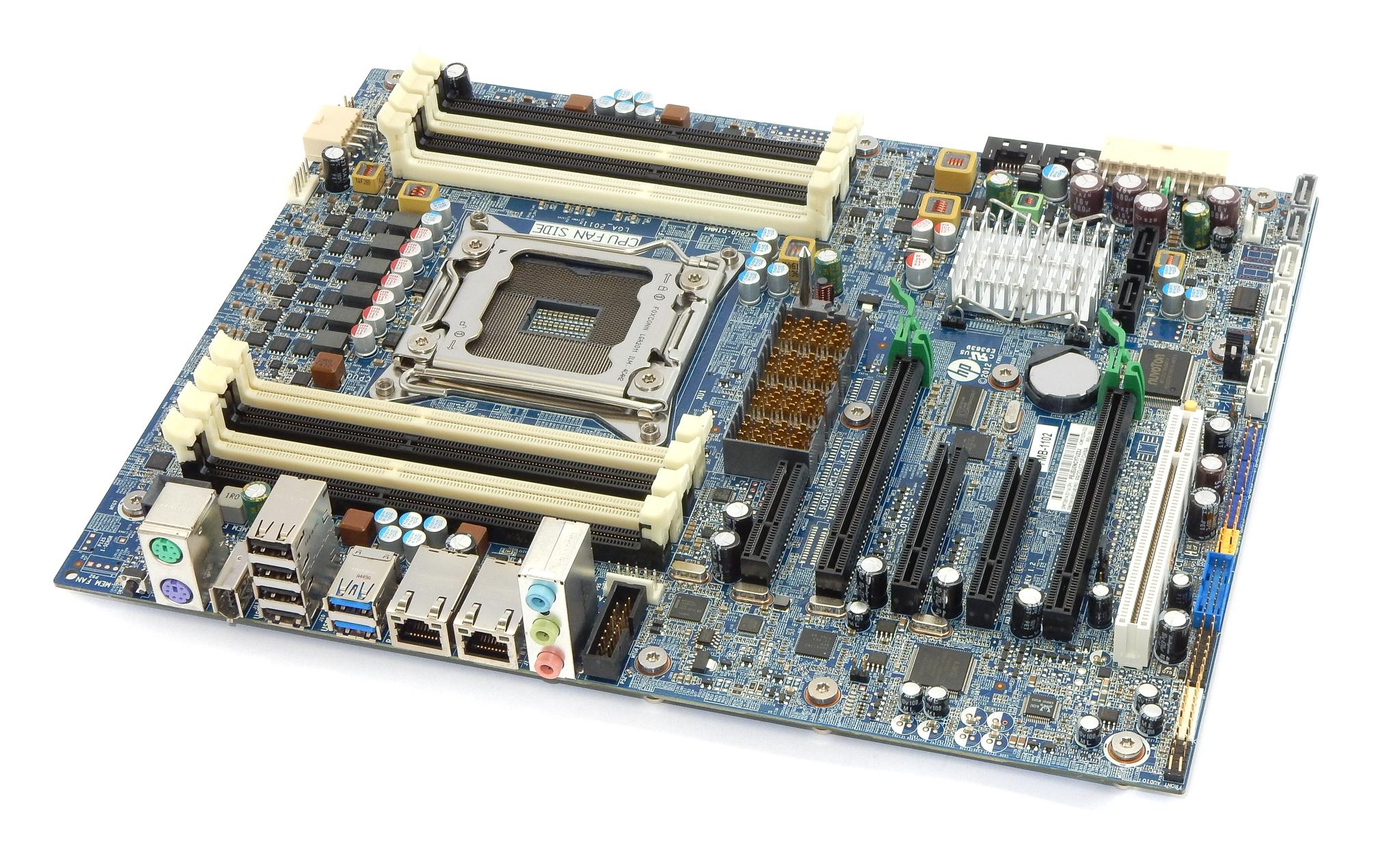 HP 708614-001 Z620 Workstation Motherboard
