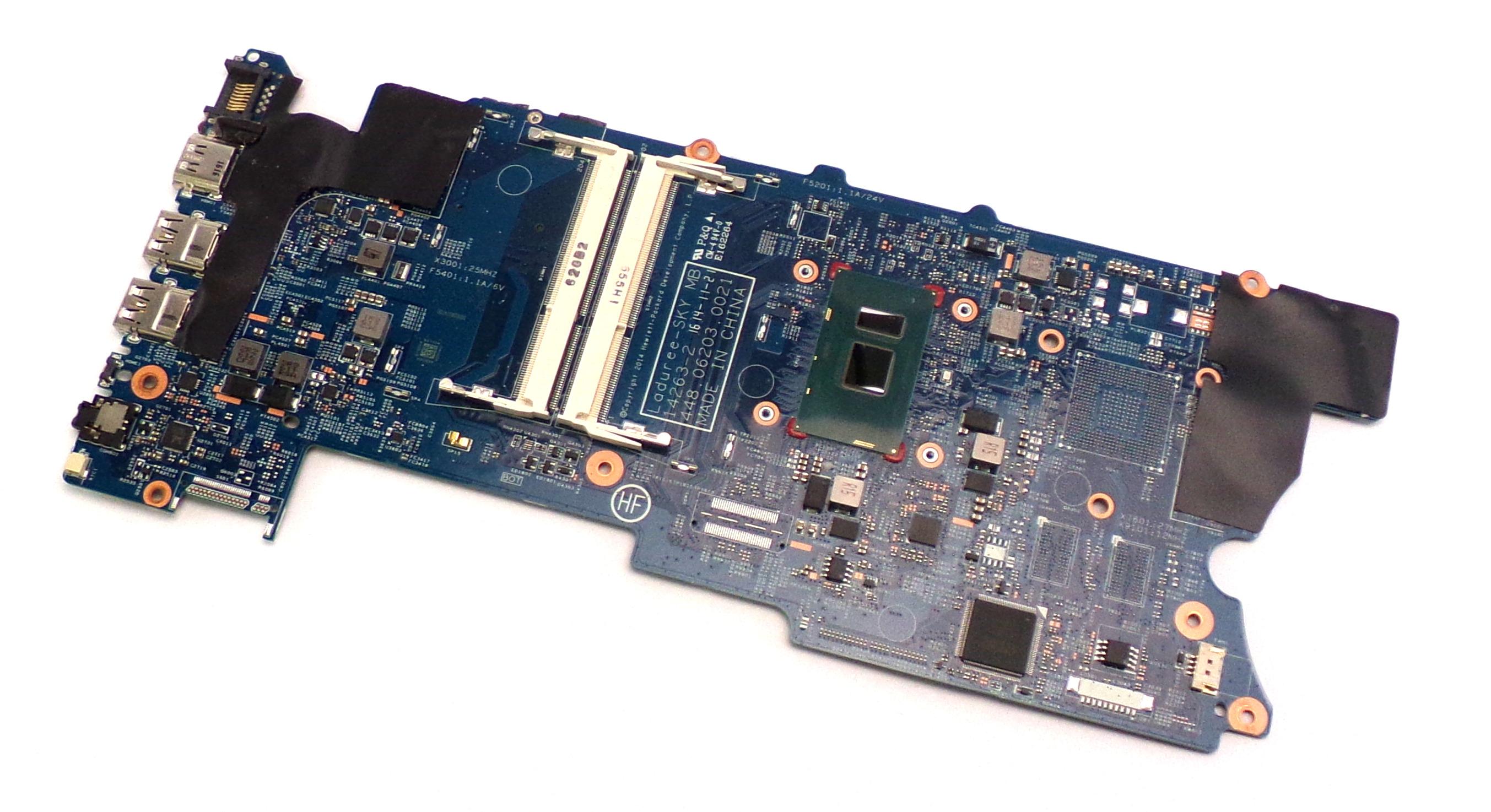 HP 860592-601 Pavilion x360 15-BK Motherboard with Intel Core i3-6100U CPU