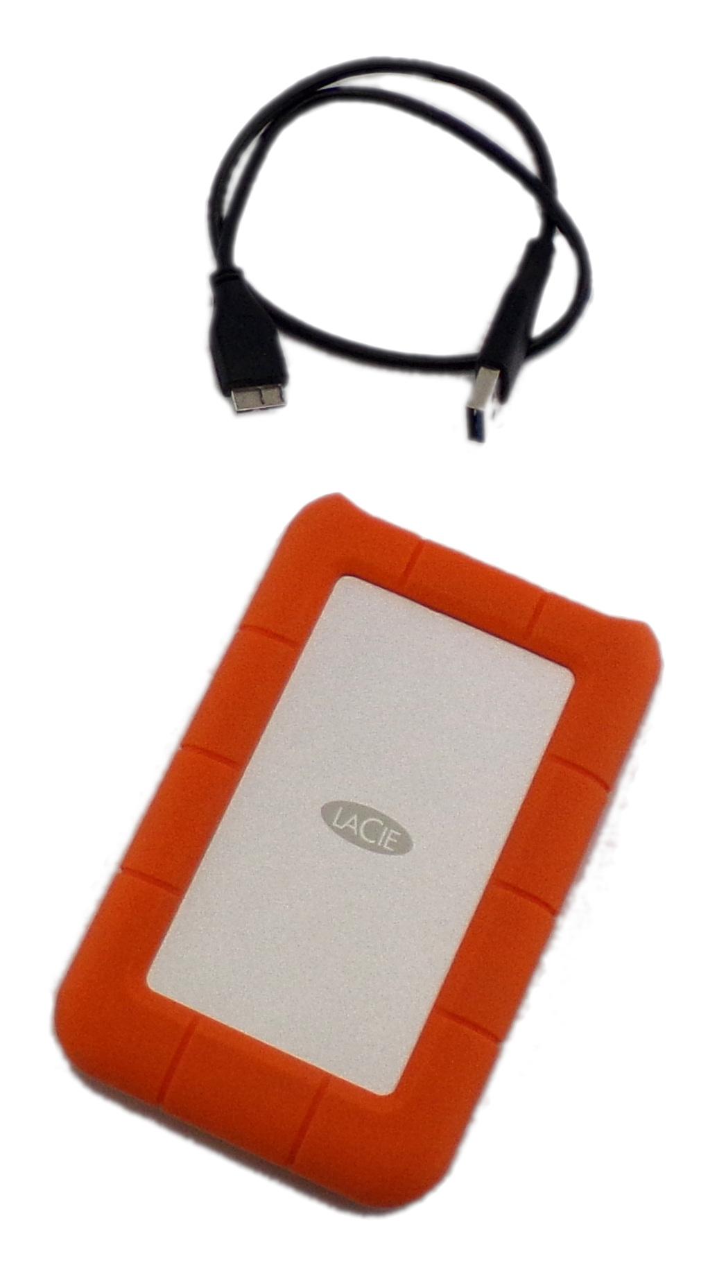 LaCie RUGU3M2 2TB USB 3.0 Rugged External Hard Drive