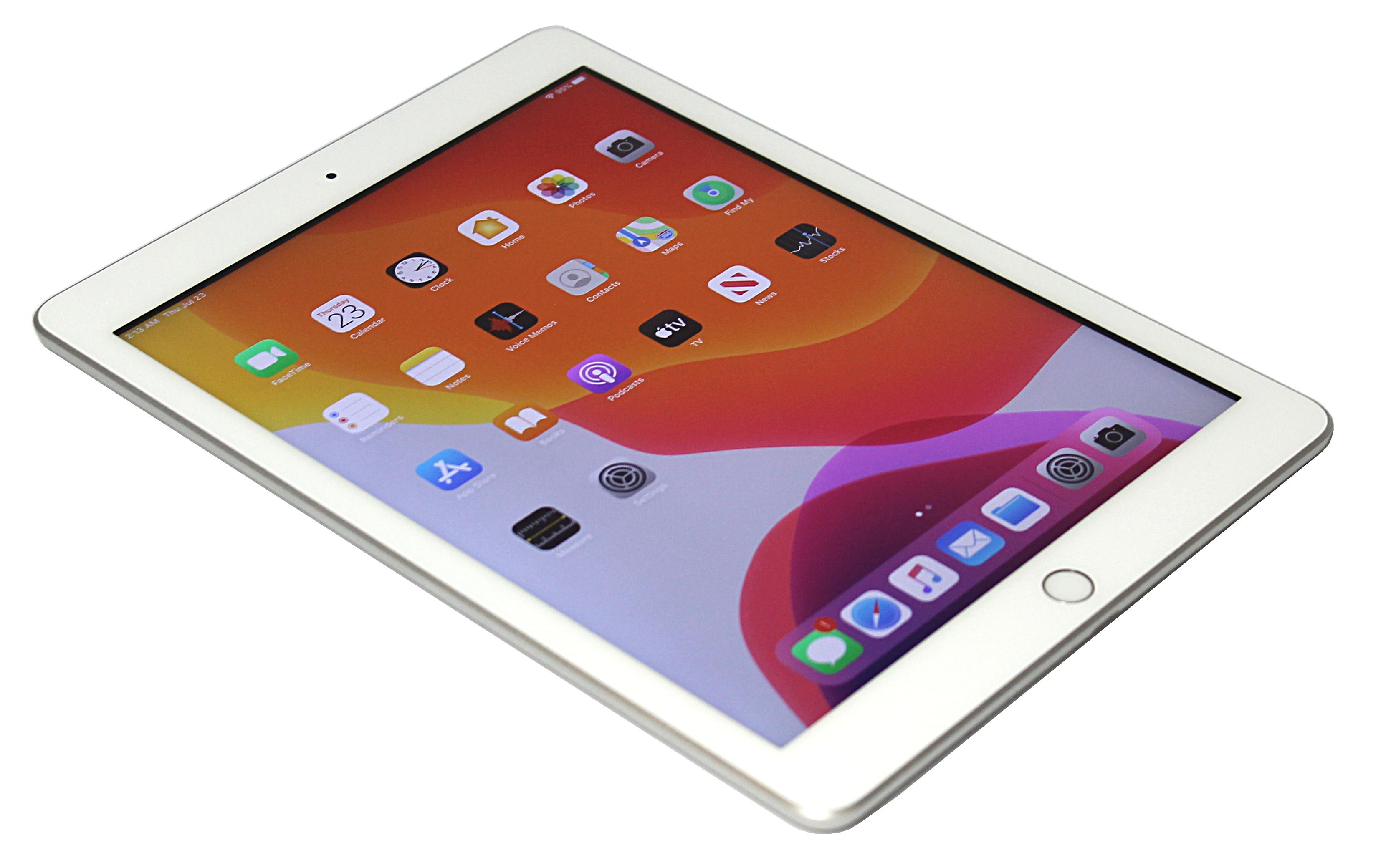 Apple iPad 7th Gen. A2197 - 32GB WiFi Silver No Touch ID Refurbished