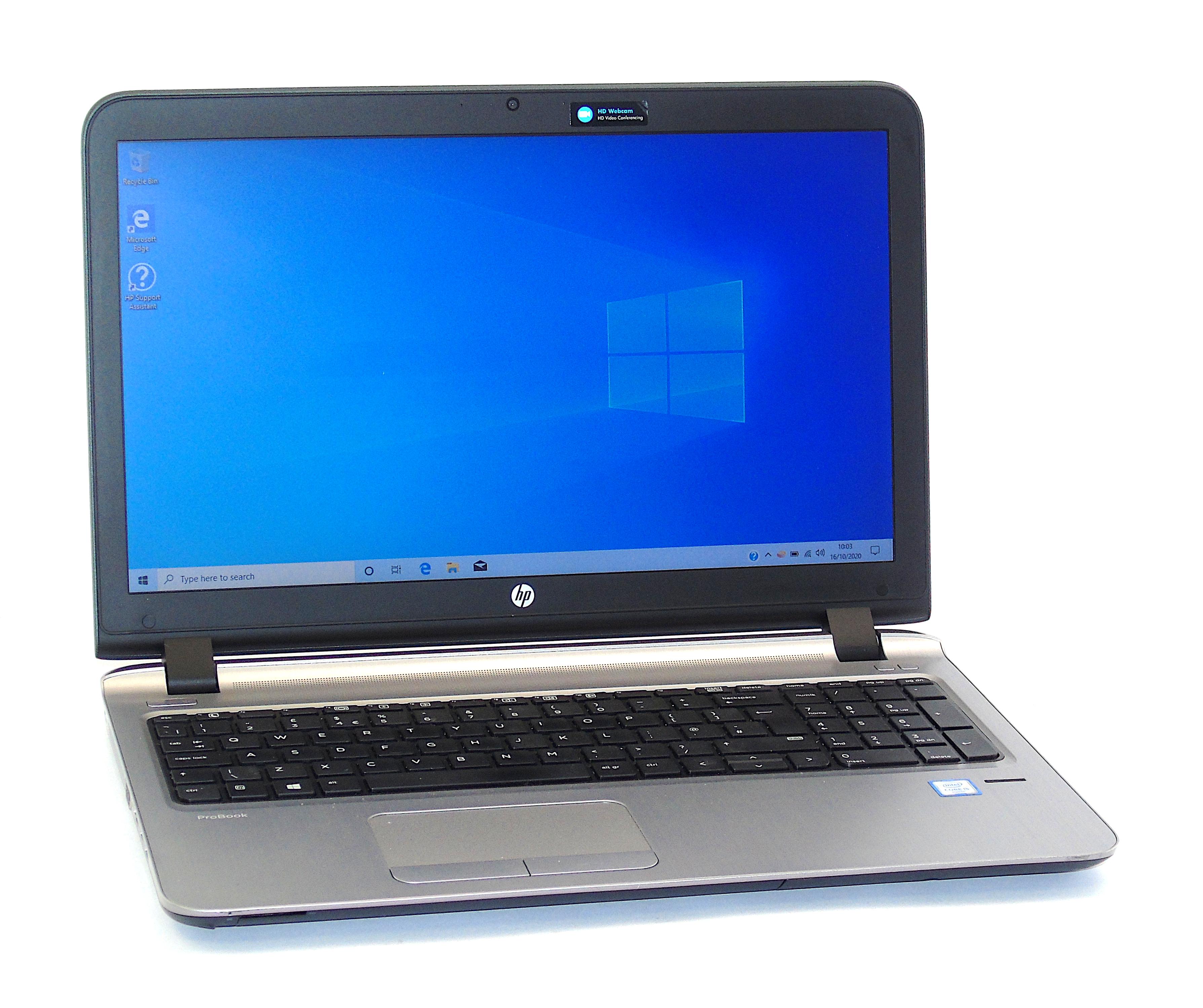 """HP Probook 450 G3 Core i5-6200U 8GB RAM 128GB SSD 15.6"""" Display Windows 10"""