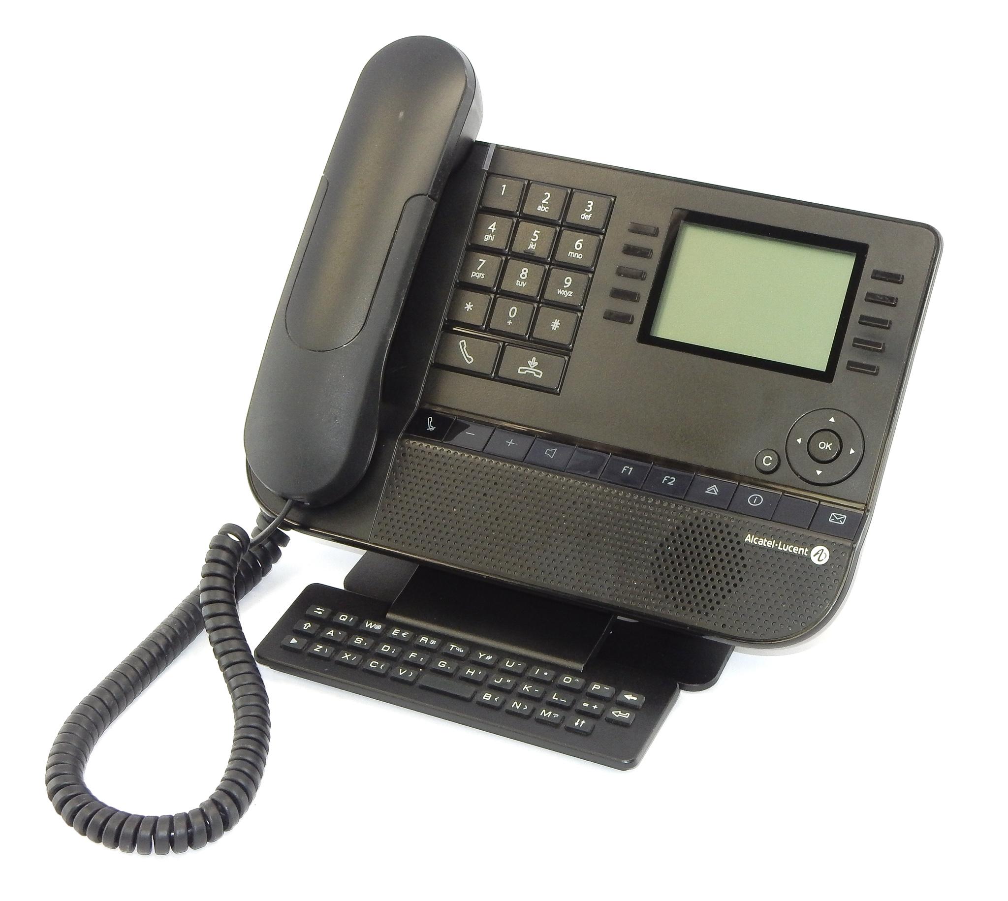 Alcatel-Lucent 8039 Premium DeskPhone w/ Qwerty keyboard