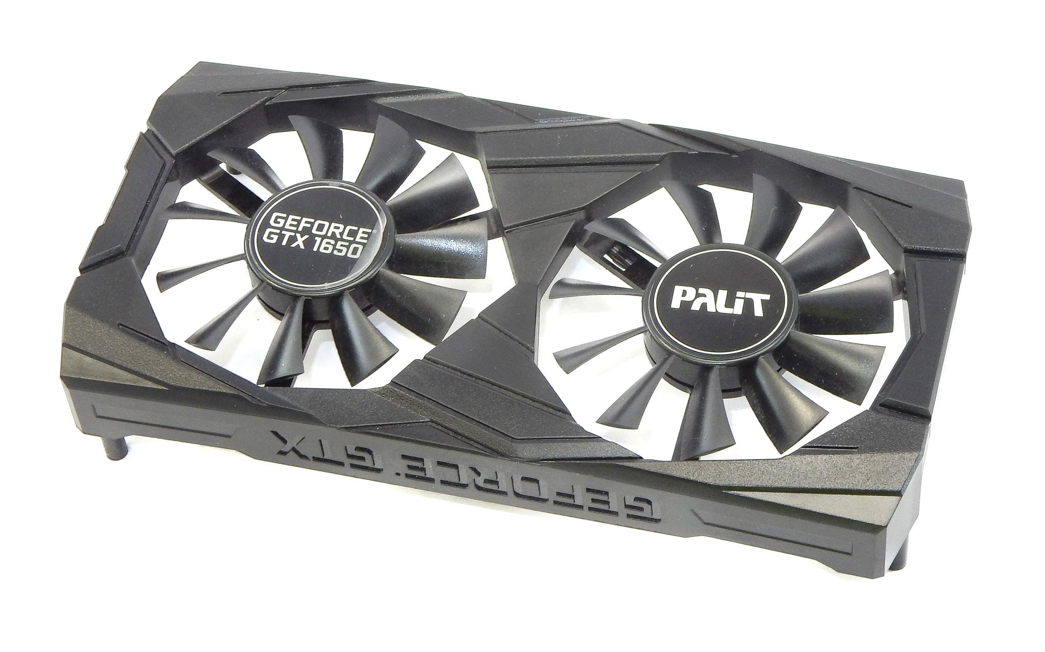 Dual Fan Housing For Palit NE51650T1BG1-1171D GTX 1650 Graphics Card