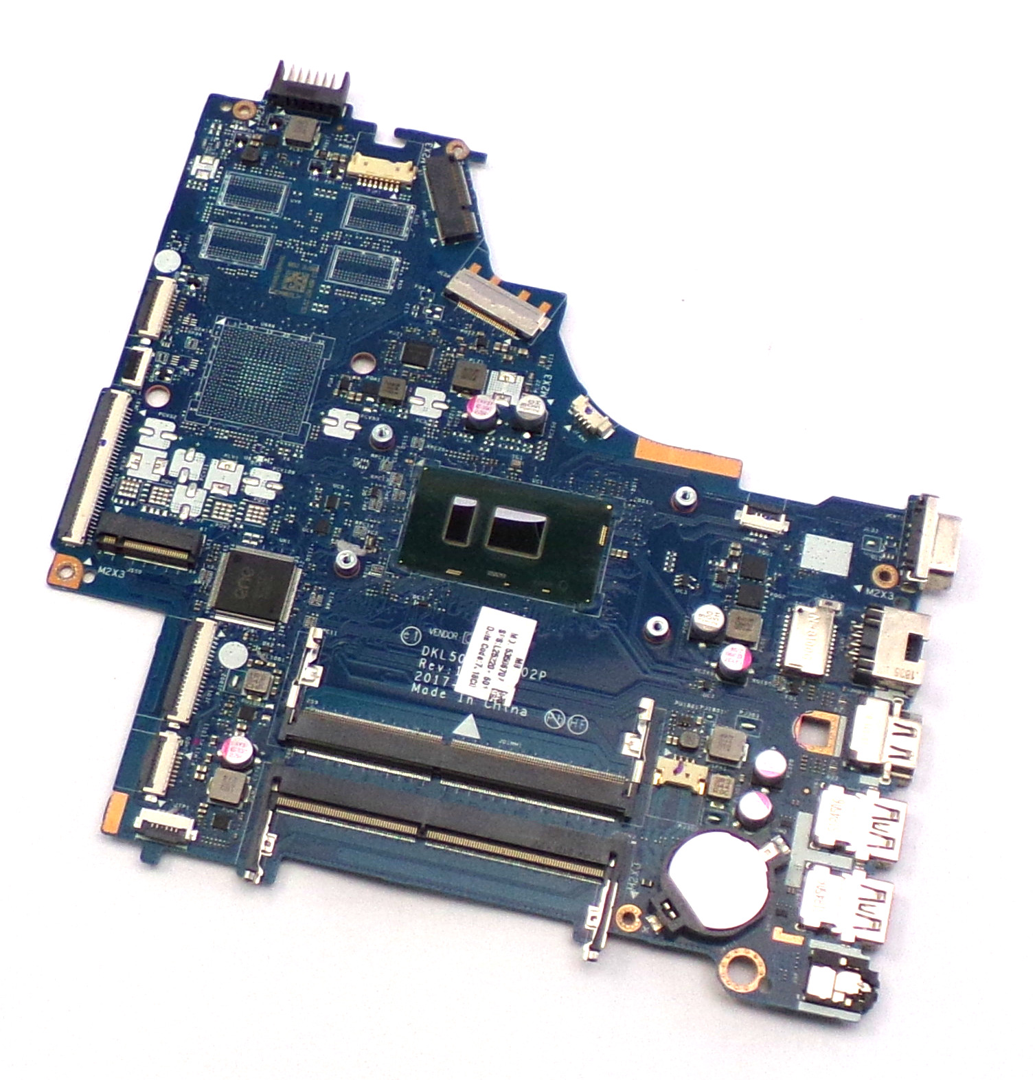 HP L25220-601 250 G6 with Intel Core i3-7020U Laptop Motherboard