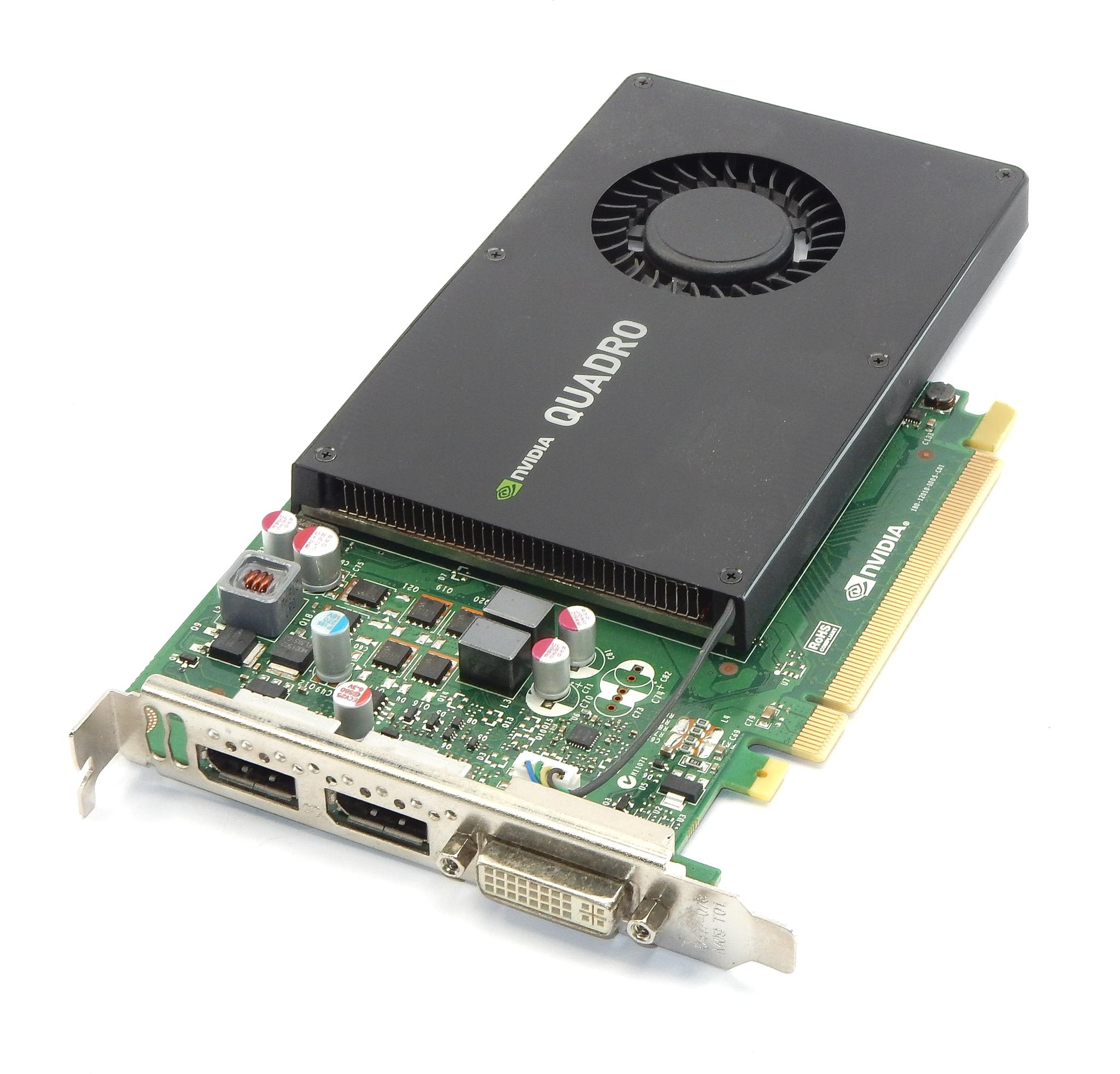 HP 765148-001 nVidia Quadro K2200 4GB GDDR5 PCIe Graphics Card