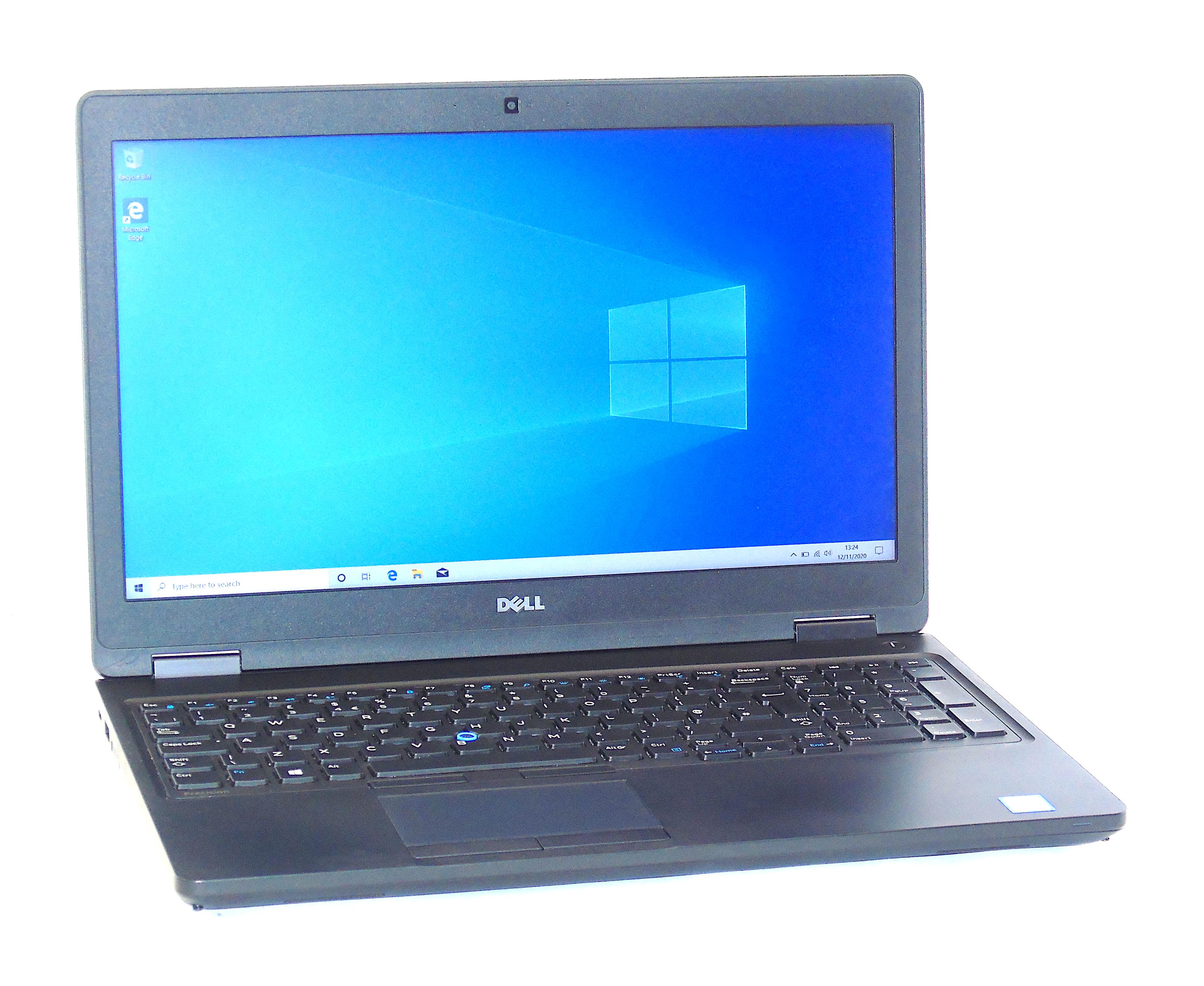 """Dell Precision 3520 Core i7-6820HQ 16GB RAM 256GB SSD 15.6"""" Display Windows 10"""