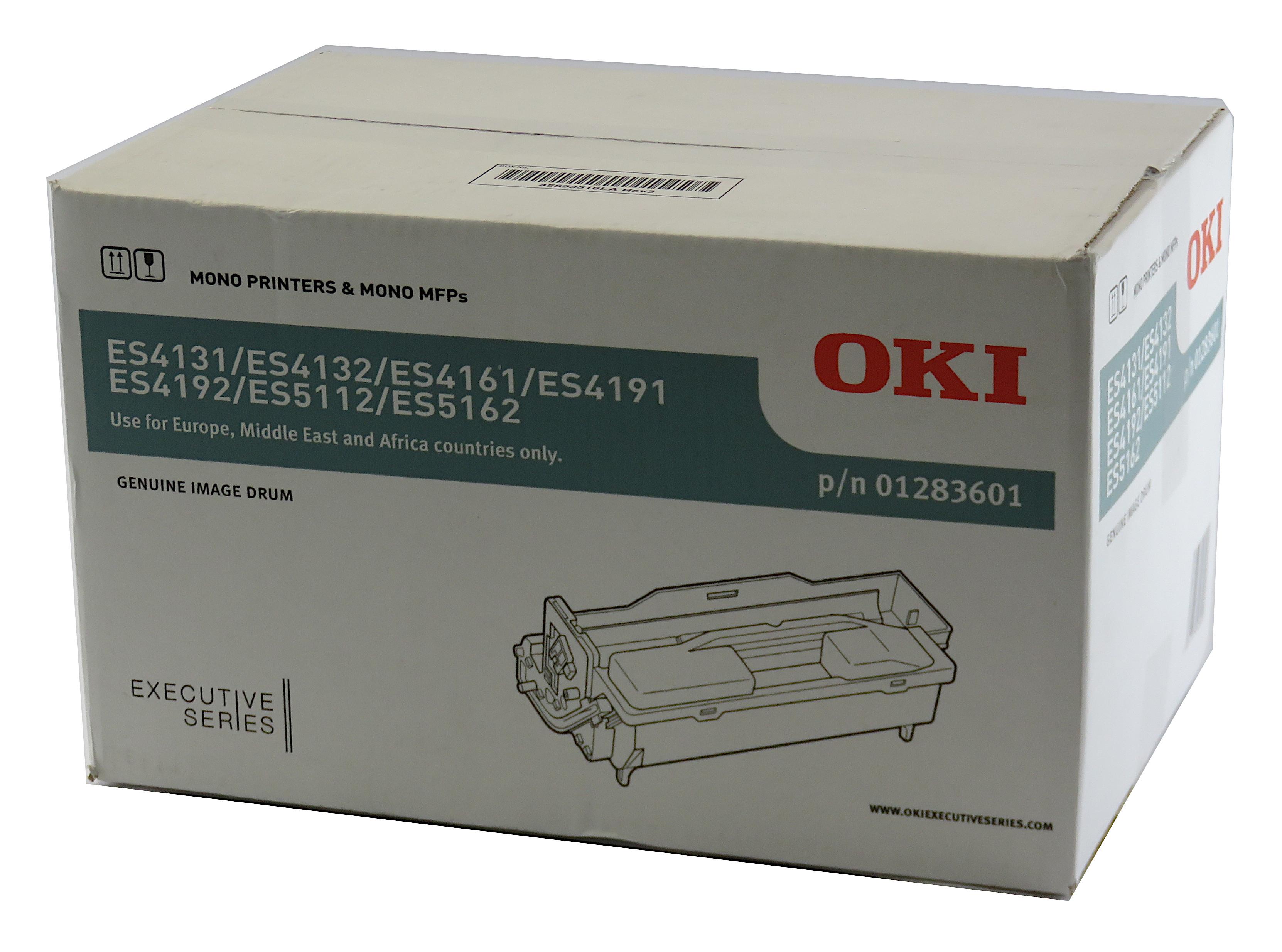 Genuine OKI Image Drum 01283601 f/ ES Series Mono Printers & Mono MFPs