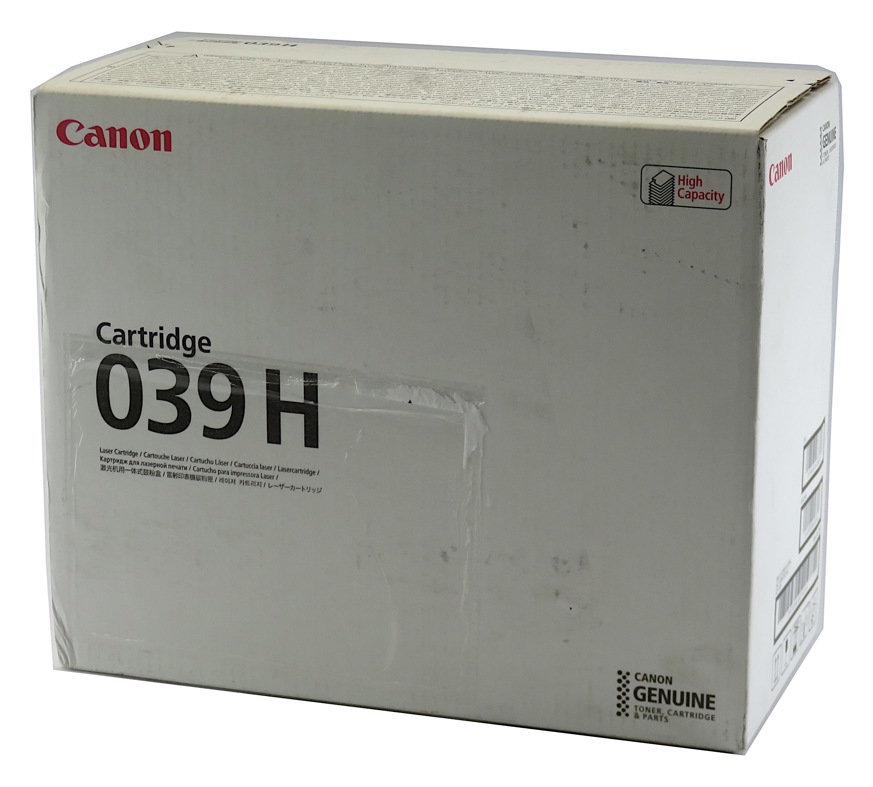 New Genuine Canon 039H High-Capacity Laser Toner Cartridge for LBP351 & LBP352