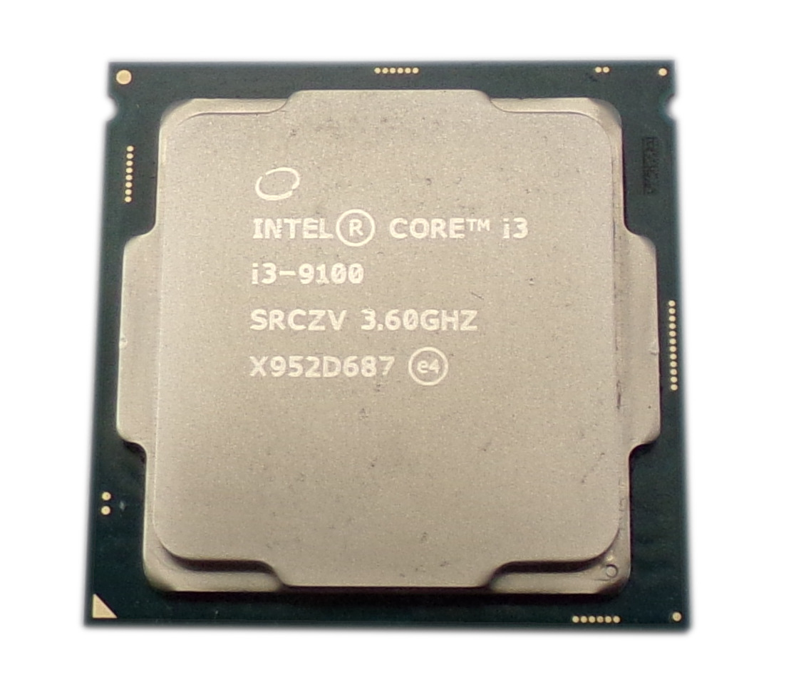 Intel SRCZV Core i3-9100 Socket 1151 3.6GHz (4.2 Turbo) Quad-Core Processor