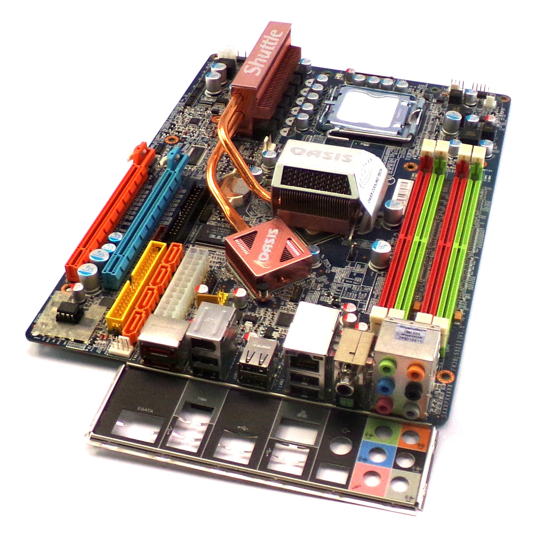 SX38P200-BP0-11 SHUTTLE FX38(S5111) V1.5 Socket 775 Motherboard