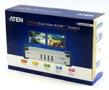 Aten 4-Port Dual-View KVMP Switch CS1744C