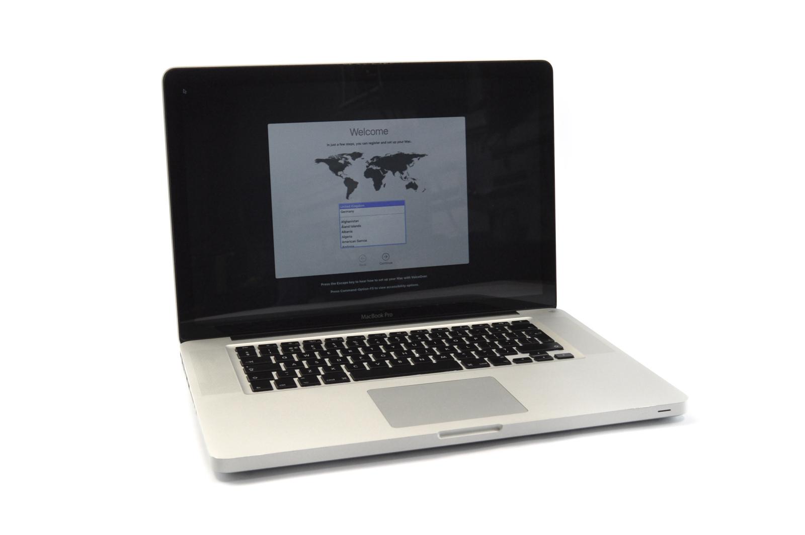 """Apple MacBook Pro 15"""" Mid 2012 Core i7 2.3GHz 600GB 1TB 16GB SN:C02HJ1WQDV33"""