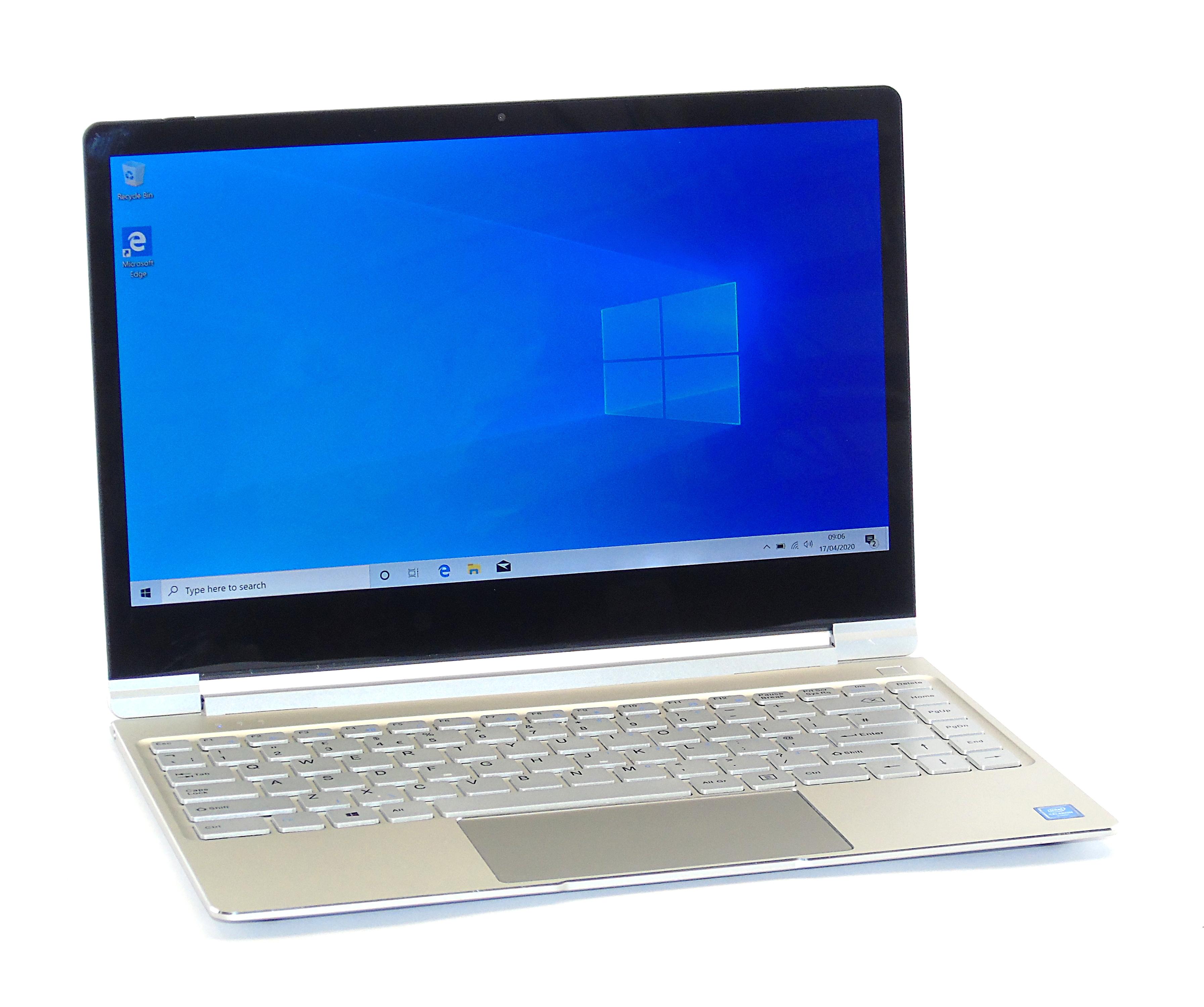 "GeoBook 3 Laptop Celeron 4GB RAM 32GB eMMC 13.3"" Display Windows 10"