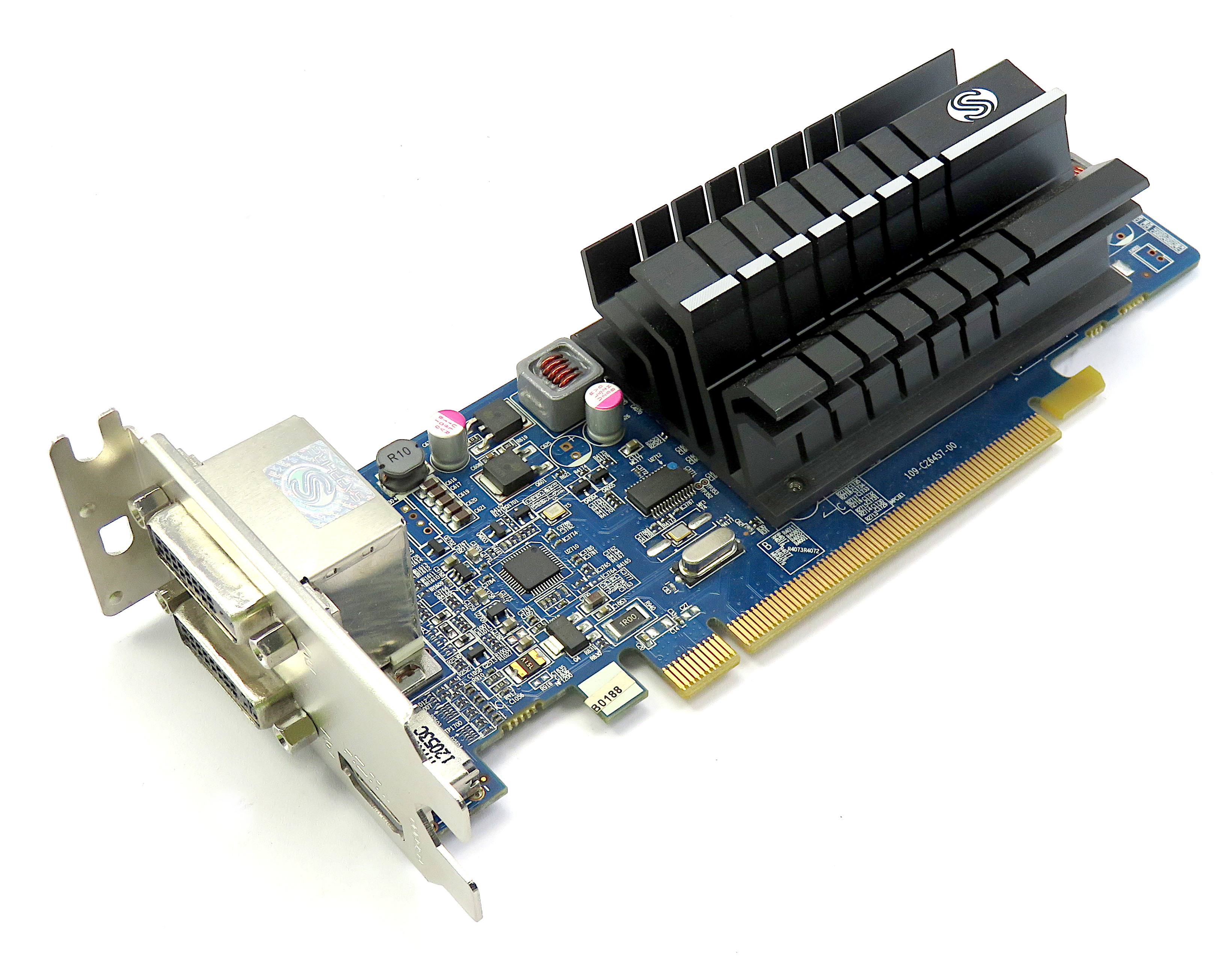 Sapphire Flex HD6450 1GBLow Profile Passive Graphics Card 299-1E206-002SA