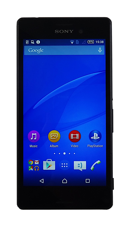 Sony E2303 Xperia 8GB Vodafone Black