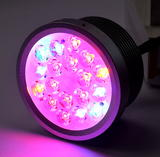 Attis-7 Plant Growth Hydroponic Light OEM Spectrum 30 Degree Clear Lens 3W LED