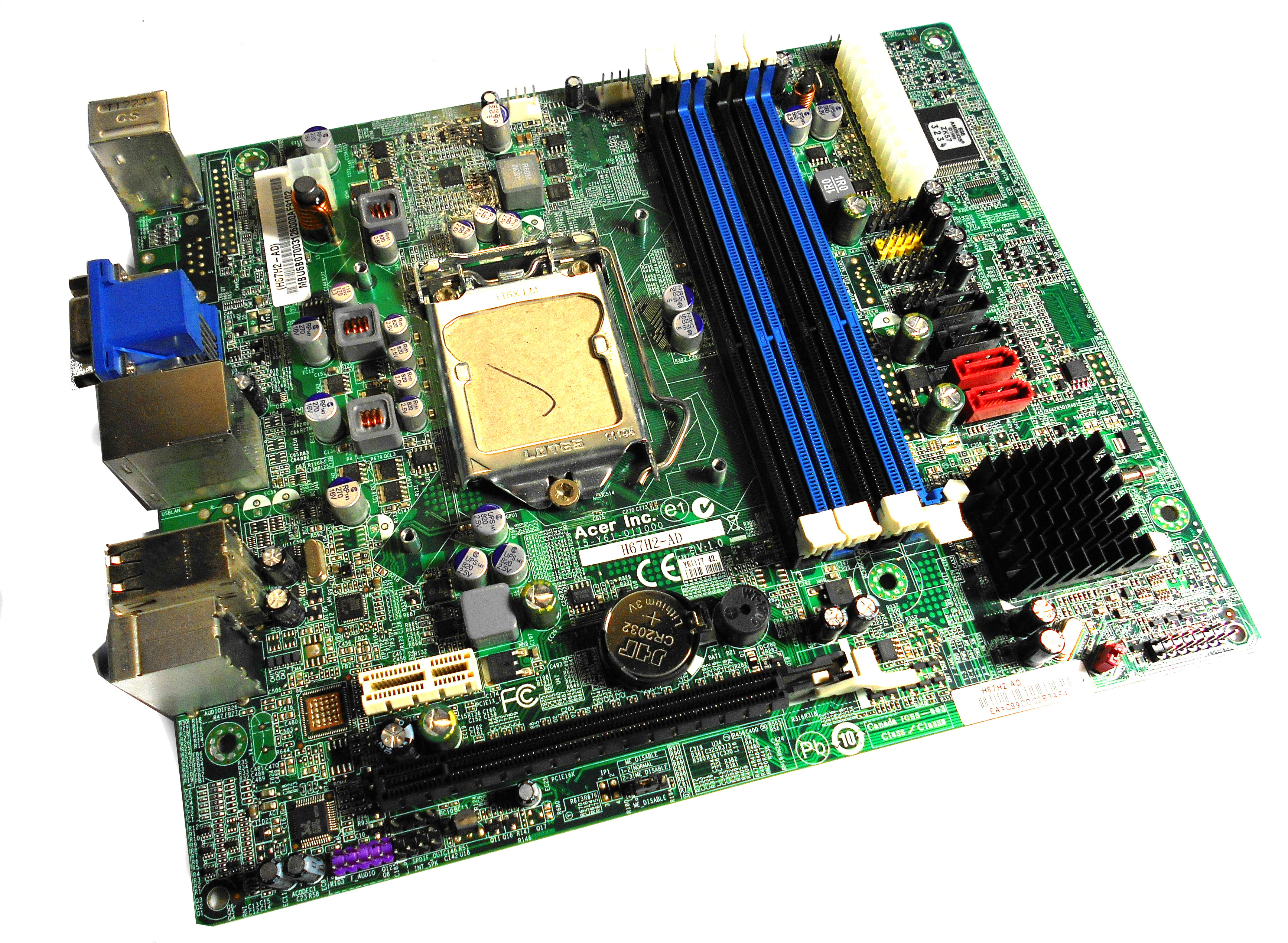 Packard Bell OneTwo L5861 H67H2-AD Motherboard MB.U6B07.003
