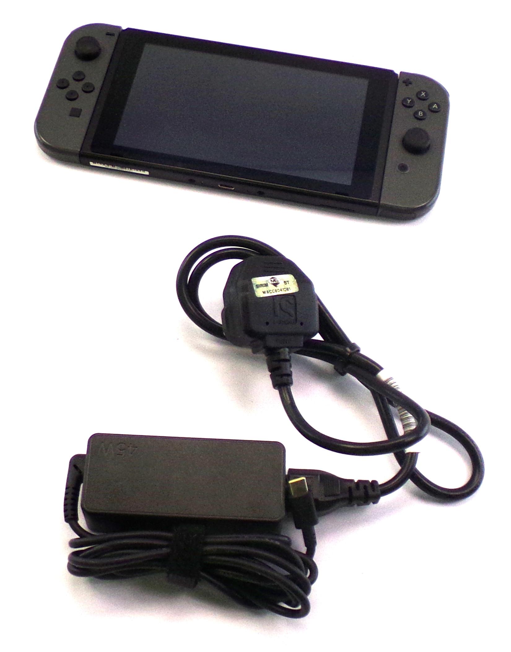 HAC-001 Nintendo Switch Console with Grey Joy Con