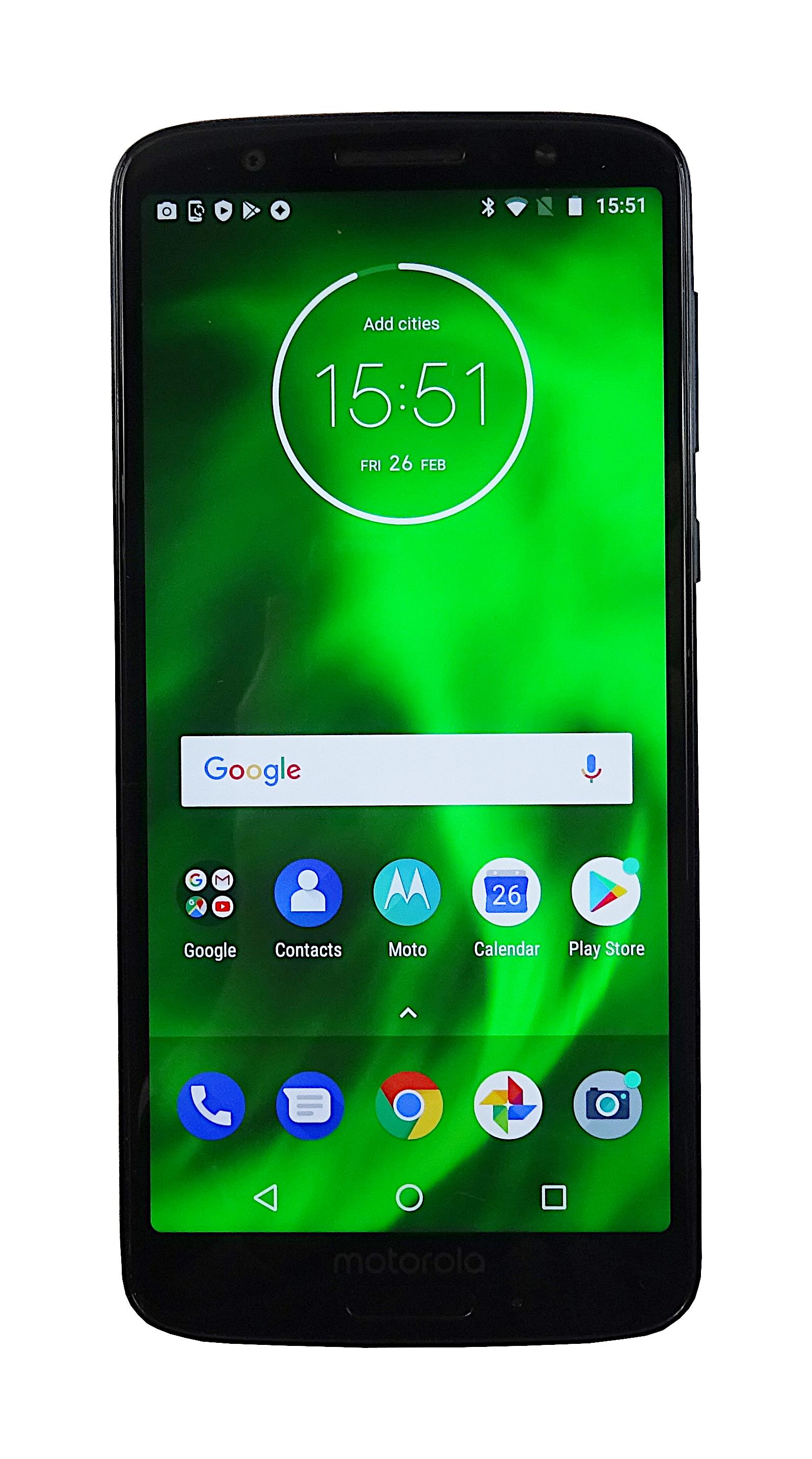 Motorola Moto G6 XT1925-4 32GB Vodafone Indigo Blue Used