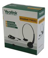 Yealink YHS32 Noise-Cancelling Monaural VOIP Headset