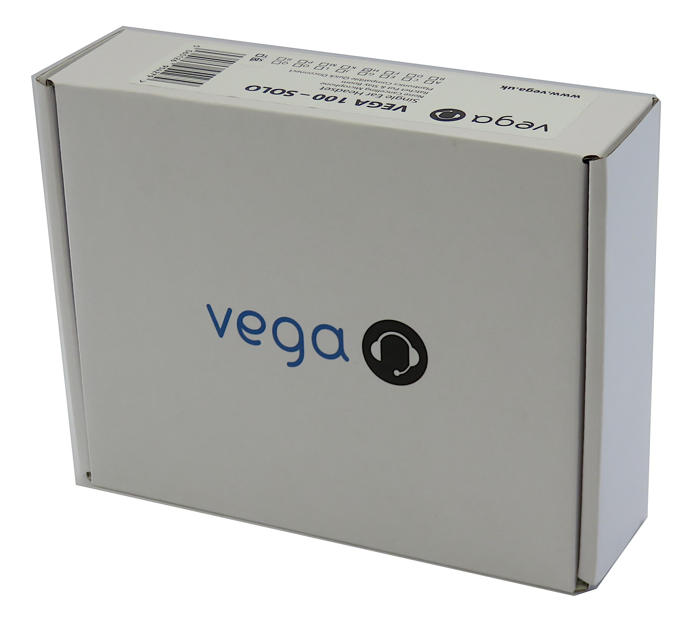 Vega 100-Solo Monaural Noise Cancelling Plantronics Compatible VOIP Headset