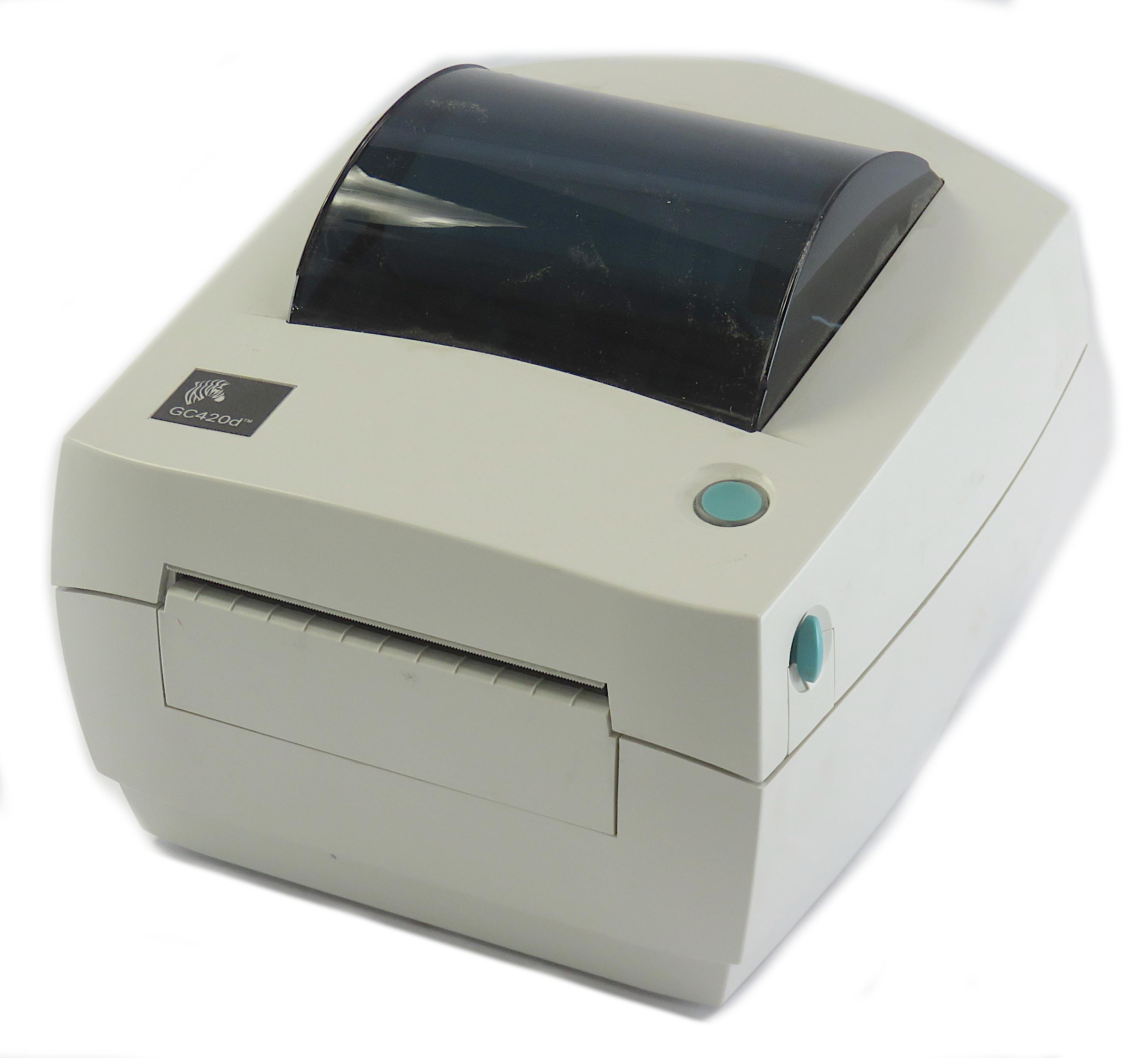Zebra GC420d Thermal Label Printer GC420-200520-000 USB/Serial/Parallel Interfce
