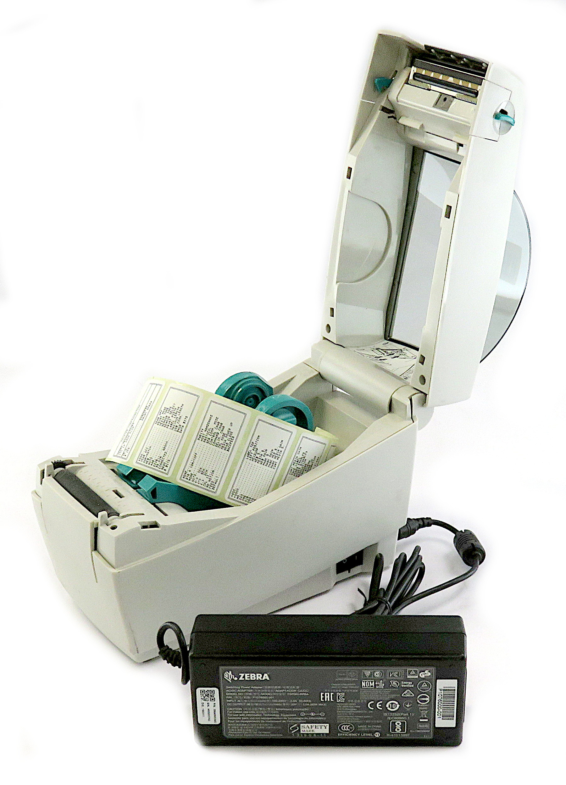 Zebra LP2824 Plus USB/Serial Interface Thermal Label Printer 282P-201120-000
