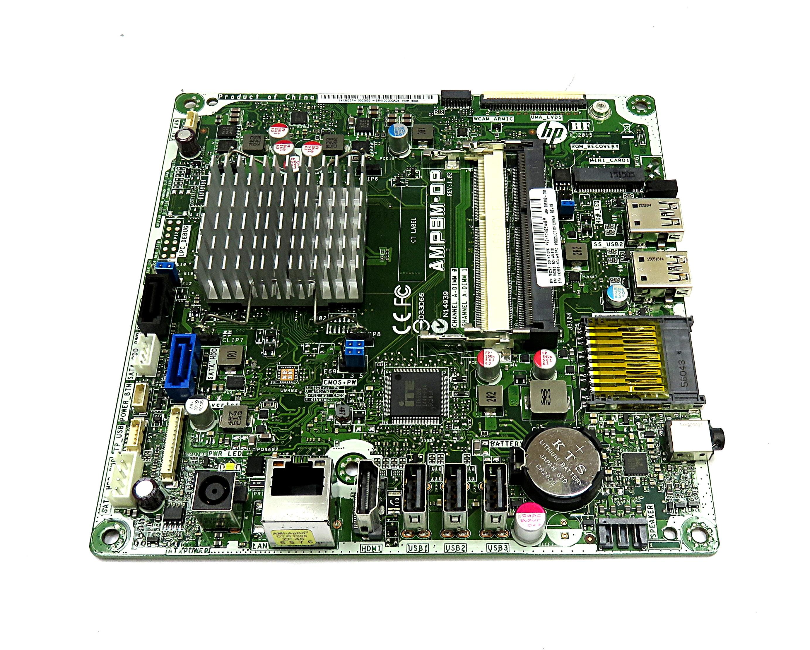 "793292-004 HP Motherboard f/ 21.5"" AiO PC w/ AMD A6-6310 APU AMPBM-DP"