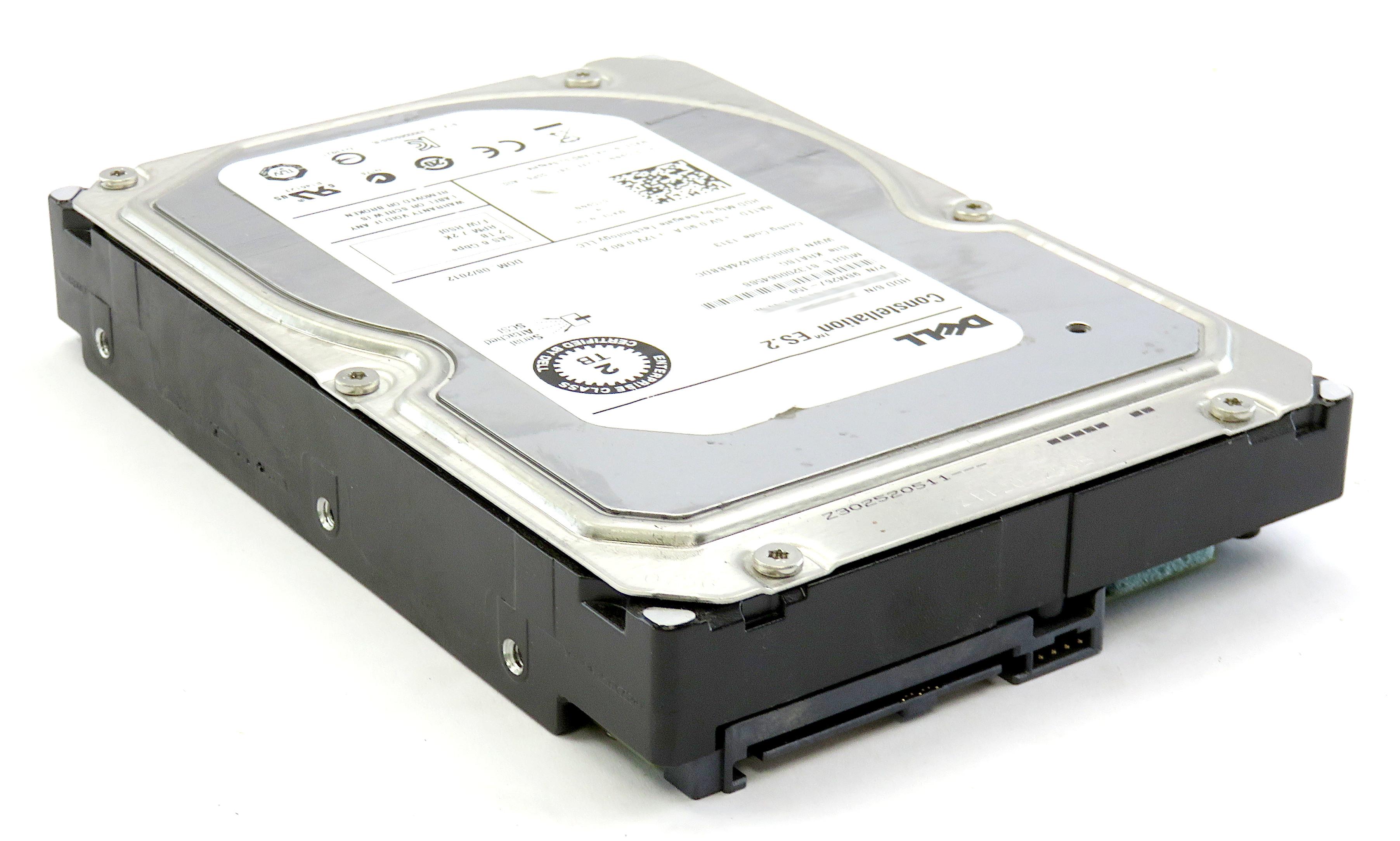 Dell 1D9NN Seagate Constellation ES.2 2TB 7200RPM 6Gbps SAS HDD ST32000645SSS